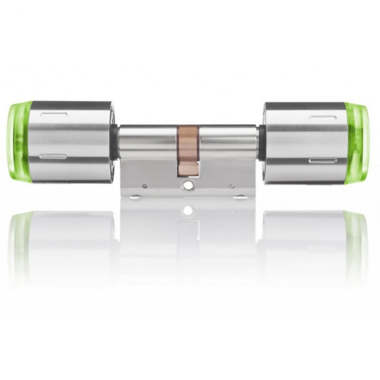 elektronischer schliesszylinder schlieazylinder zweiseitige lesbarkeit haustur